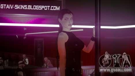 Angelina Jolie (Tomb Raider) for GTA 4 third screenshot