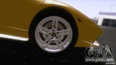 Lamborghini Murcielago LP640 2006 V1.0 for GTA San Andreas back view