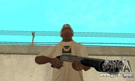 Shotgun u.s. special forces for GTA San Andreas third screenshot