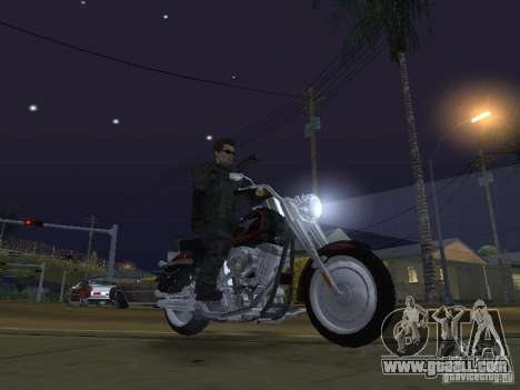 Terminator for GTA San Andreas fifth screenshot