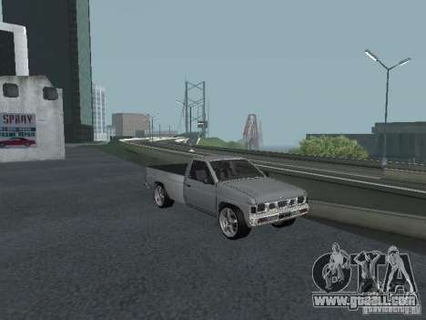 Nissan Pick-up D21 for GTA San Andreas upper view
