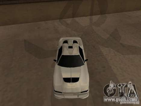 Infernus GT for GTA San Andreas left view