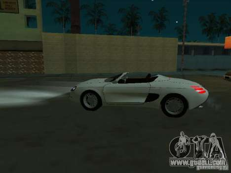 Ford Mustang 1993 for GTA San Andreas left view