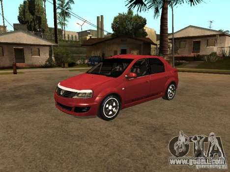 Dacia Logan Rally Dirt for GTA San Andreas