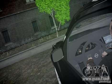 Nissan Pathfinder 2010 for GTA 4 bottom view