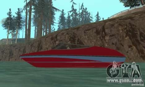 Speedboat for GTA San Andreas right view