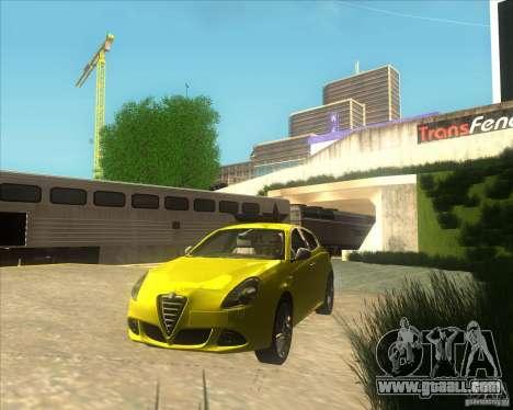 Alfa Romeo Giulietta QV 2011 for GTA San Andreas