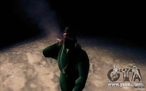 Realistic cigarette for GTA San Andreas third screenshot