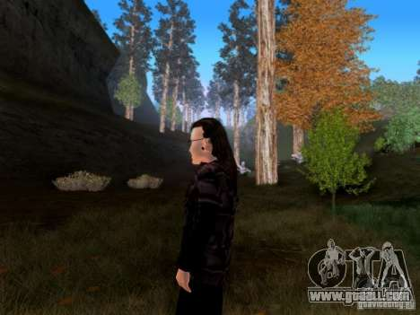 Skrillex for GTA San Andreas third screenshot