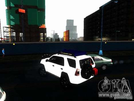 Toyota 4Runner 4X4 for GTA San Andreas left view
