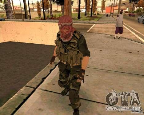 Skin dušmana from COD4 for GTA San Andreas