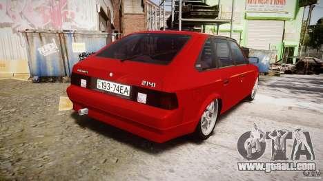 AZLK Moskvich 2141 STR-v 2.1 for GTA 4 side view