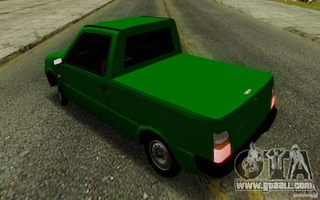 SEAZ Oka Pickup for GTA San Andreas inner view