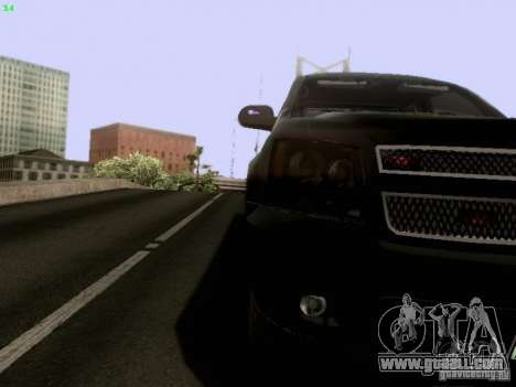 Chevrolet Tahoe 2009 Unmarked for GTA San Andreas side view