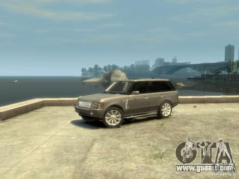 Range Rover Supercharged 2008 for GTA 4 left view
