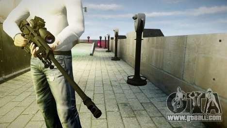 Barrett 98B (sniper) for GTA 4 third screenshot