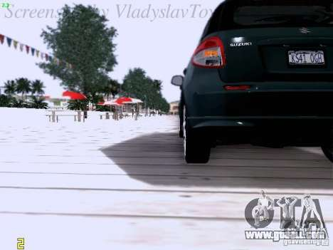 Suzuki SX4 Sportback 2011 for GTA San Andreas side view