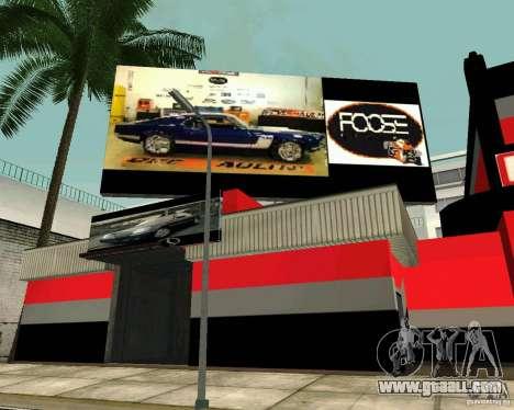 OVERHAULIN Workshop for GTA San Andreas forth screenshot