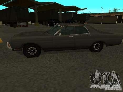 Dodge Polara 1971 for GTA San Andreas right view