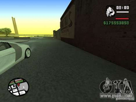 First person (First-Person mod) for GTA San Andreas third screenshot