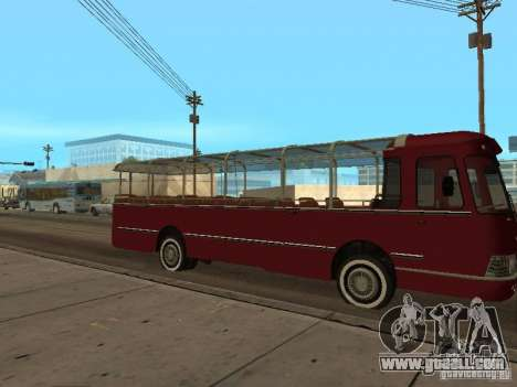 LIAZ 677 Excursion for GTA San Andreas back left view