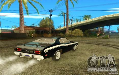 Plymouth Duster 340 1971 for GTA San Andreas left view