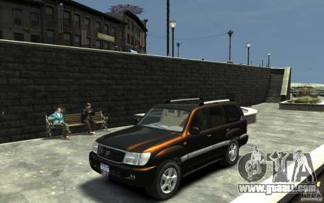 LEXUS LX 470 for GTA 4