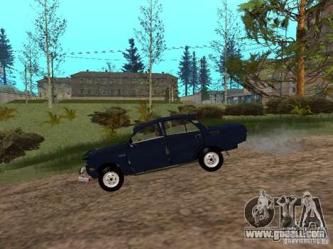 Moskvich Tattered for GTA San Andreas back left view