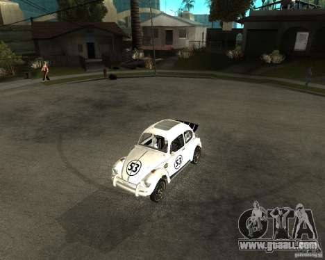 Volkswagen Beetle Herby for GTA San Andreas