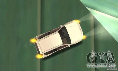 Honda Civic SiR II Tuning for GTA San Andreas side view
