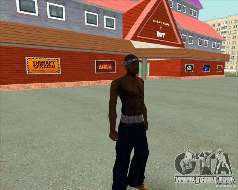 2Pac for GTA San Andreas forth screenshot
