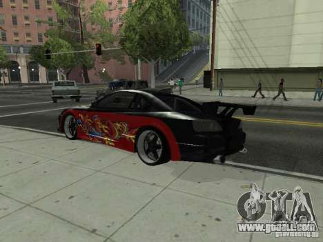 Nissan S15 vDragon for GTA San Andreas left view