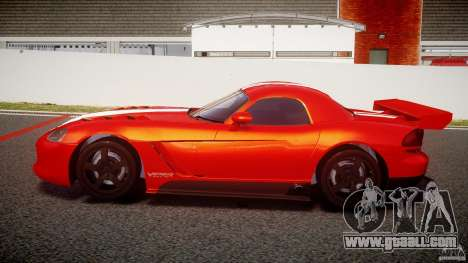 Dodge Viper RT 10 Need for Speed:Shift Tuning for GTA 4 left view