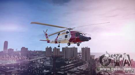HH-60J Jayhawk for GTA 4 left view