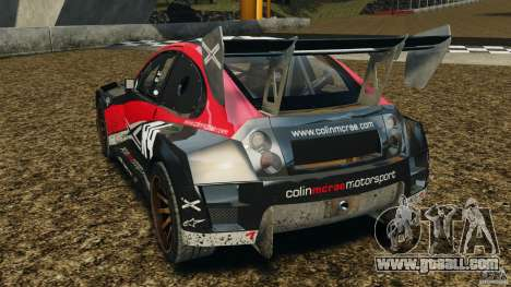 Colin McRae R4 Rallycross for GTA 4 back left view