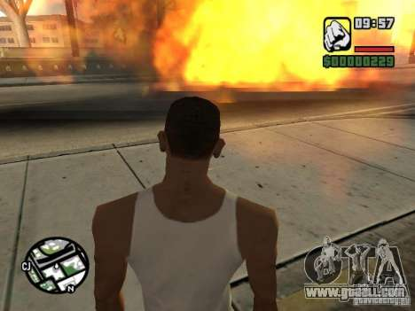Kyubi-Bomb for GTA San Andreas fifth screenshot