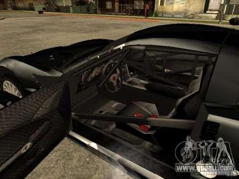 Chevrolet Corvette C6.R for GTA San Andreas back left view