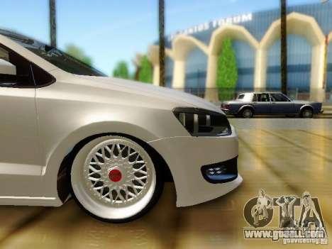 Volkswagen Polo 6R TSI Edit for GTA San Andreas right view