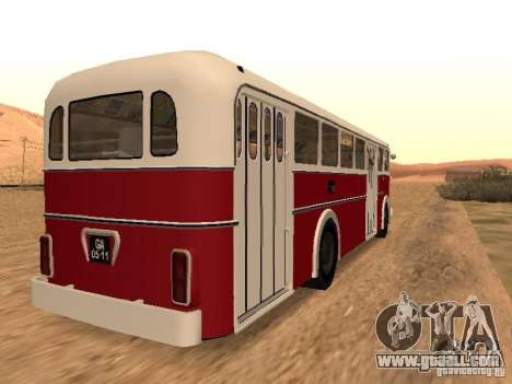 Ikarus 60 for GTA San Andreas back left view
