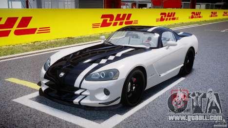Dodge Viper SRT-10 ACR 2009 v2.0 [EPM] for GTA 4