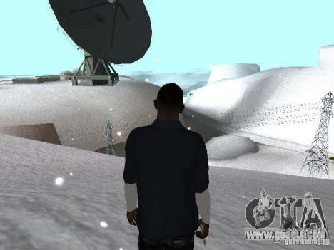 Snow MOD 2012-2013 for GTA San Andreas forth screenshot