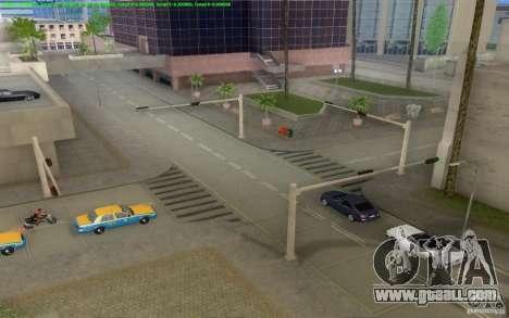 Concrete roads of Los Santos Beta for GTA San Andreas eighth screenshot
