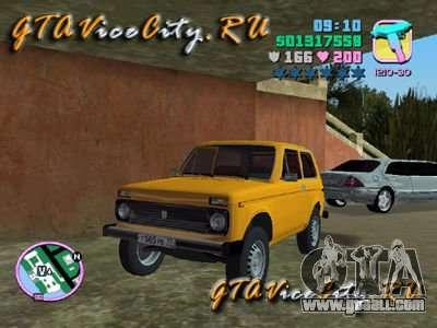 The Niva VAZ 21213 for GTA Vice City