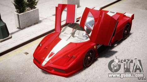 Ferrari FXX for GTA 4 wheels