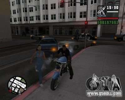 Turn signals 2.1 for GTA San Andreas third screenshot