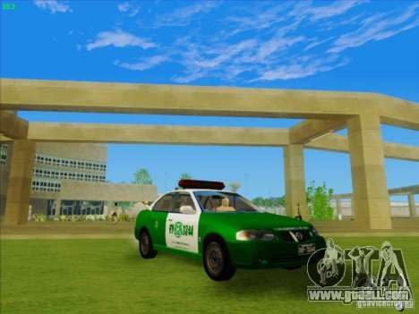 Nissan Sentra Carabineros De Chile for GTA San Andreas right view