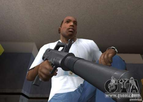 QCW-05 for GTA San Andreas second screenshot