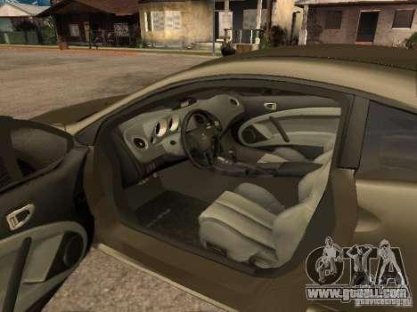 Mitsubishi Eclipse for GTA San Andreas back view