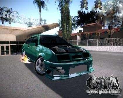 Ford Sierra Drift for GTA San Andreas back left view