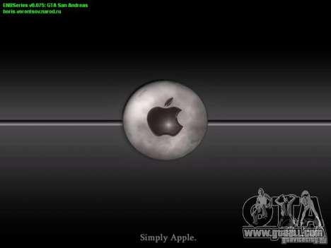Boot screen and menu World Mishin v2 for GTA San Andreas forth screenshot